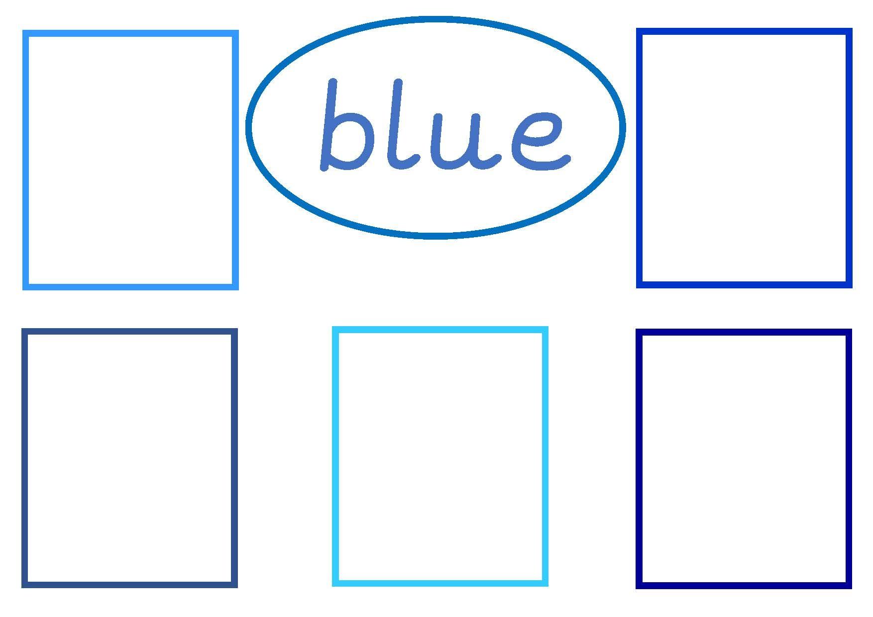 Colour Bingo